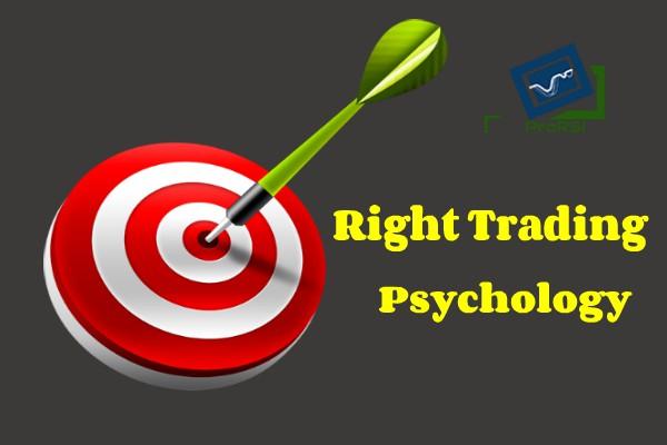 right trading psychology